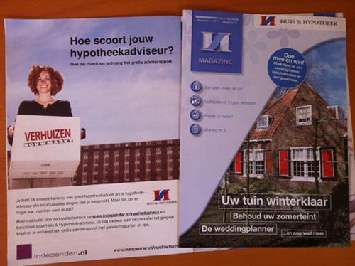 Mooie aandacht van Huis & Hypotheek voor de kwaliteitscheck hypotheekadviseur