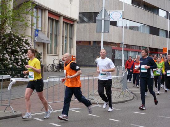 Independe tijdens Hilversum City Run
