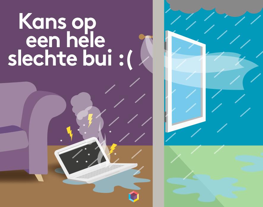 Afbeelding uit het bericht Schade door regen: wat vergoedt je verzekering