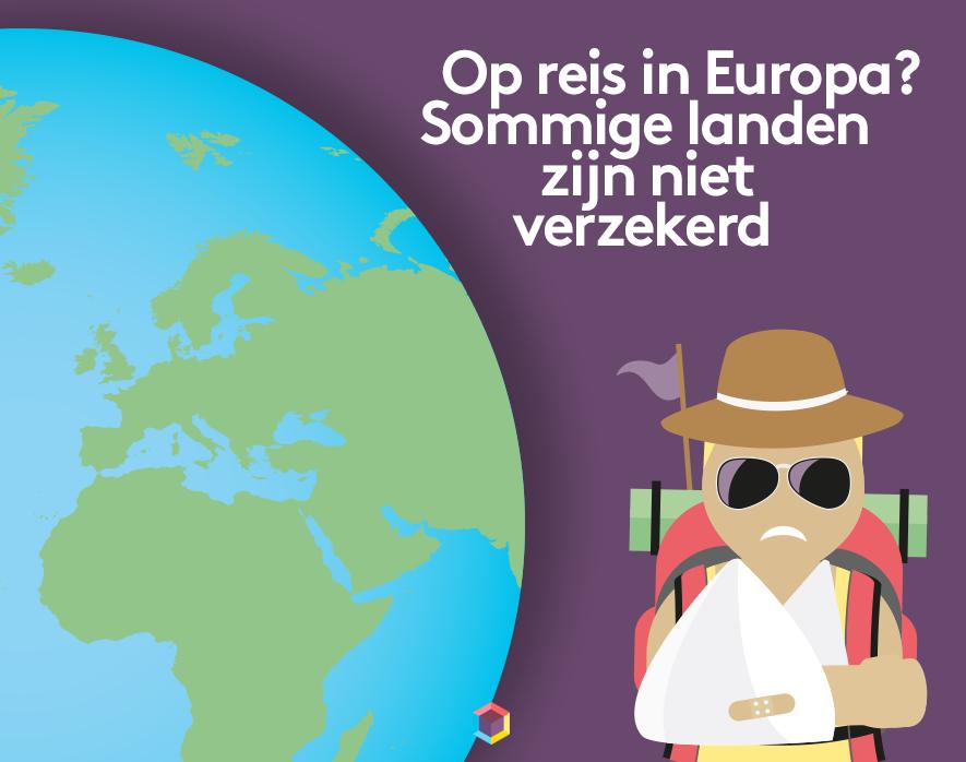Afbeelding uit het bericht Op reis in Europa? Sommige landen zijn niet verzekerd
