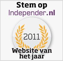 Stem op de website van het jaar 2011