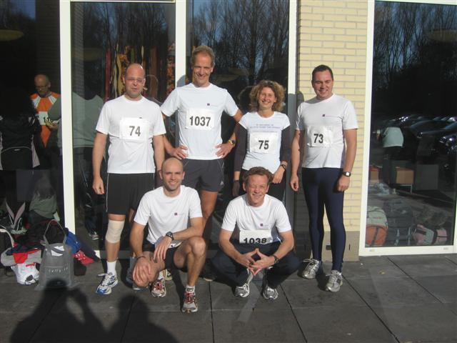 Bjorn van der Neut 3e plek Run for Hunger