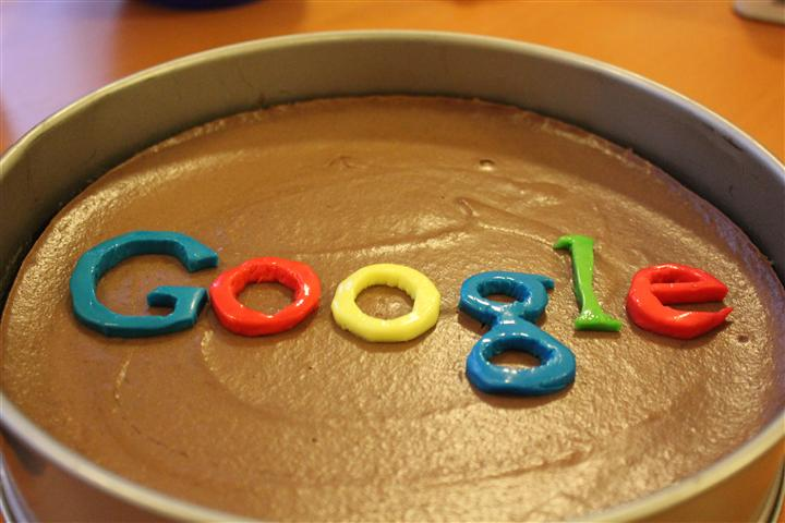 Google Taart