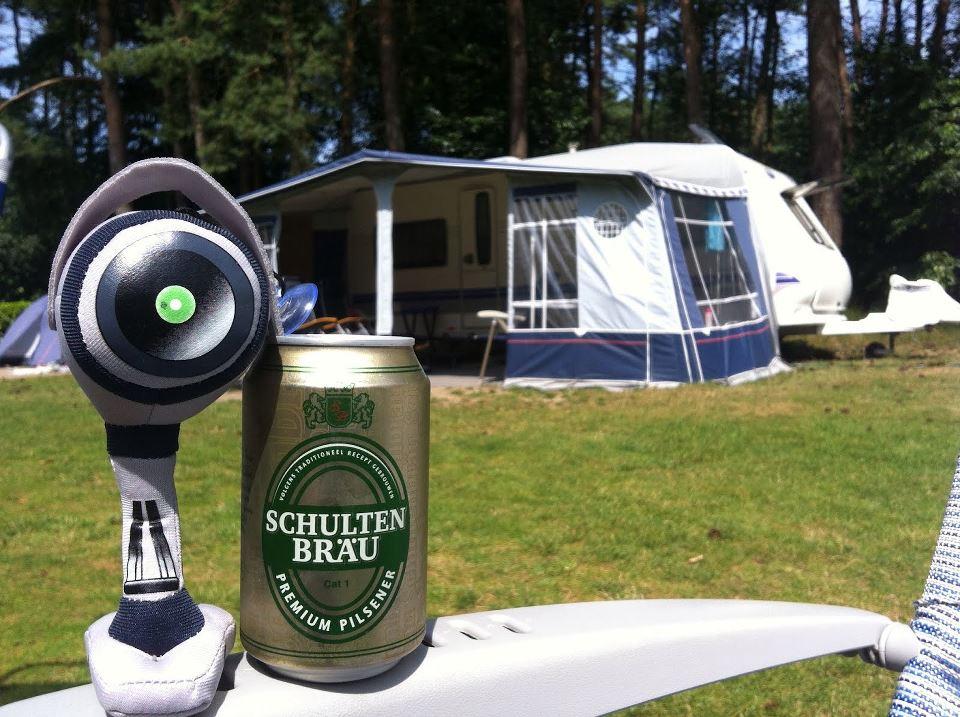 Indy op de camping